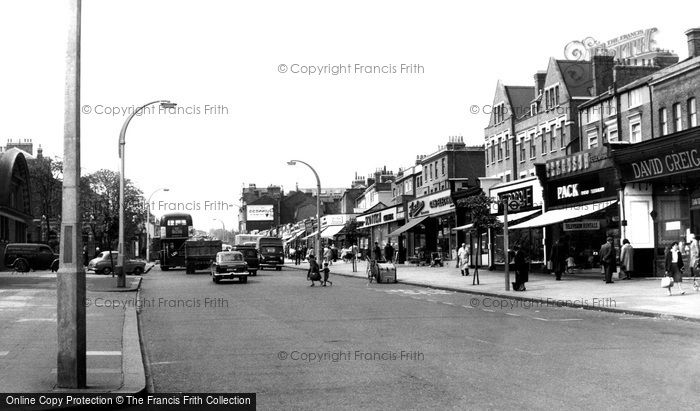 Clapham, High Street c1965