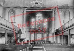 Holy Trinity Church Interior 1899, Clapham