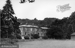 Ingleborough Hall c.1955, Clapham
