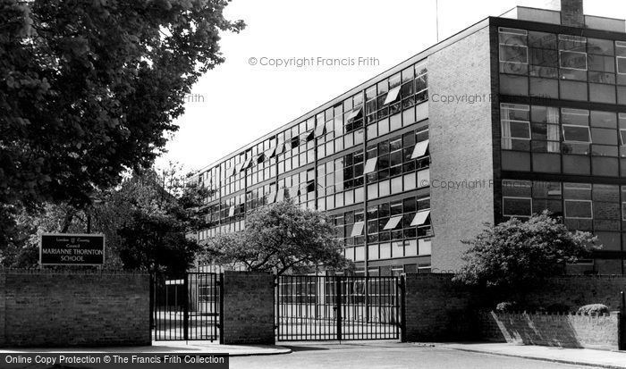 Clapham, Marianne Thornton School c1970