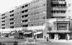 Clapham, South Tube And Westbury Court c.1970