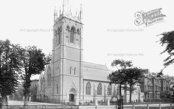 Clapham, St Barnabas Church 1899