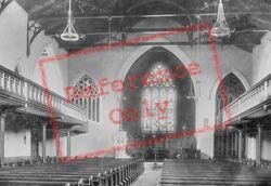 St James's Church Interior 1899, Clapham