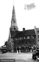 St Mary's Church c.1955, Clapham