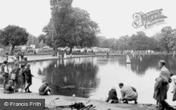 The Pond On The Common c.1955, Clapham