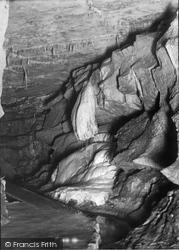 Clapham, The Shower Bath, Ingleborough Cave 1921