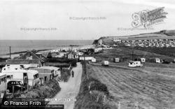 Clarach Bay, Beach Road c.1960, Clarach