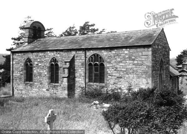 Claughton, the Church c1955