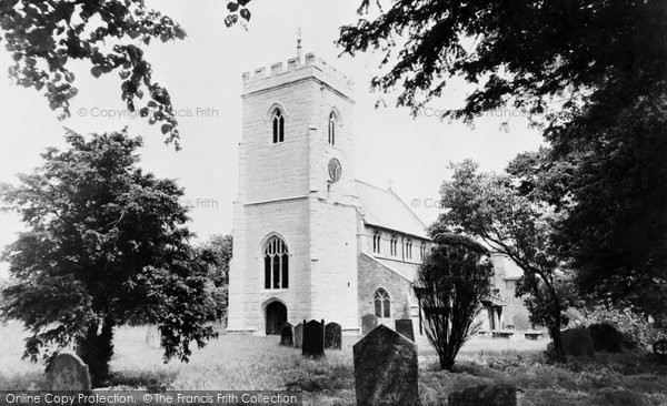 Claverdon, the Church c1960