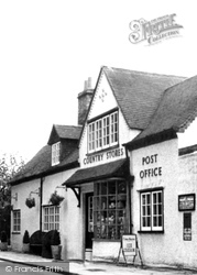 Claverdon, Country Stores And Post Office c.1955