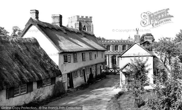 Photo of Clavering, Church End 1959