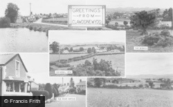 Clawddnewydd, Composite c.1955