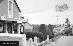 Clawddnewydd, The Post Office c.1955