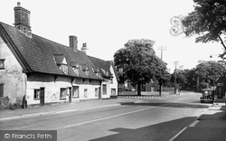 Claydon, Main Road c.1955