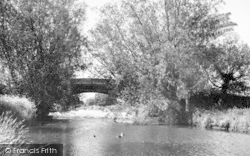 Claydon, The River c.1955