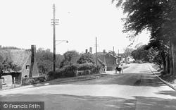 Claydon, The Village From Claydon Hill c.1955