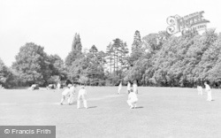 Claygate, Cricket On Swan Green c.1955