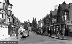 Claygate, The Parade 1952