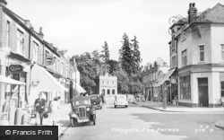 Claygate, The Parade c.1955