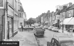 Claygate, The Parade c.1965