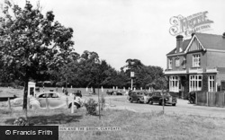 Claygate, The Swan Inn And Green c.1955