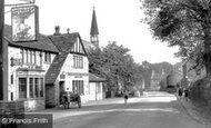 Clayton West, Church Lane and All Saints Church c1960