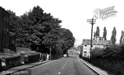 Clayton West, Hilltop Road c.1960