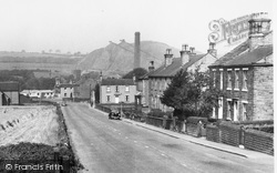 Clayton West, Long Lane And The Coal Tips c.1955