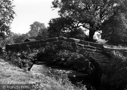 Clayton West, Packhorse Bridge c.1960