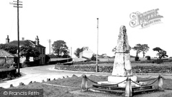 Clayton West, The Memorial c.1960