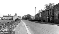 Clayton West, Wakefield Road c.1955