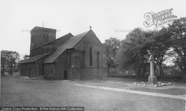 Photo of Cleator Moor, St John's Church c.1965