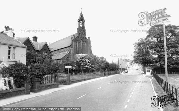 Photo of Cleator Moor, St Mary's Church c.1965