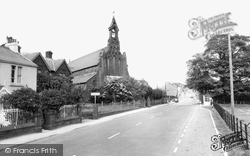 Cleator Moor, St Mary's Church c.1965