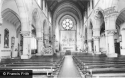 St Mary's Church Interior c.1965, Cleator Moor