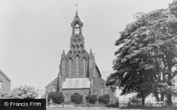 Cleator Moor, St Mary's Roman Catholic Church c.1960
