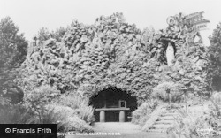Cleator Moor, The Grotto, St Mary's Roman Catholic Church c.1960