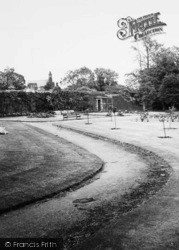 Cleator Moor, The Park Path c.1965