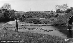 Cleator Moor, The River Ehen, Wath c.1965