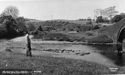 The River Ehen, Wath c.1965, Cleator Moor