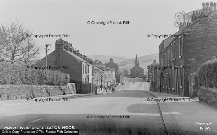 Photo of Cleator Moor, Wath Brow c.1955