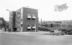 Cleckheaton, Council Flats c.1965