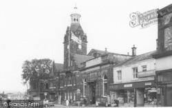 Cleckheaton, Market Place c.1965
