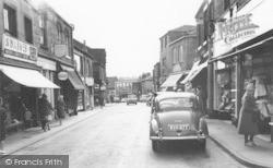 Cleckheaton, Market Street c.1965