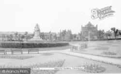Cleckheaton, Memorial Gardens c.1965