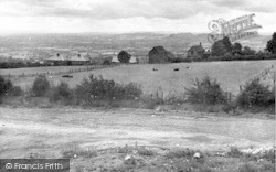 Panoramic View Looking South c.1955, Clee Hill