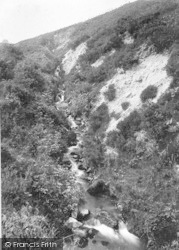 Waterfall 1911, Clee Hill