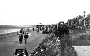 Cleethorpes, Kingsway Gardens and the Promenade c1940