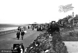 Cleethorpes, Kingsway Gardens And The Promenade c.1932