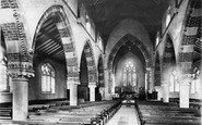 Cleethorpes, St Peter's Church interior 1890